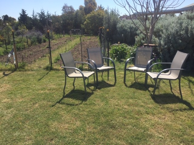 Seating – chook area