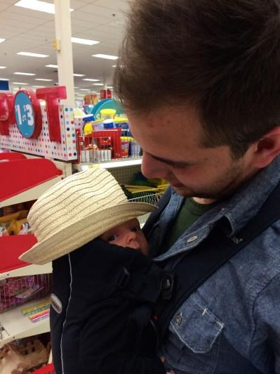 Playing at Target