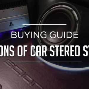 SECTIONS of Car Stereo System
