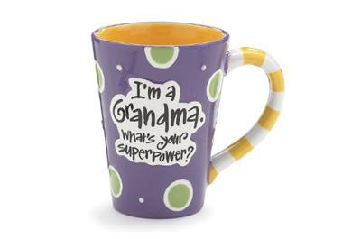 I'm A Grandma, What's Your Super Power, Coffee Mug,