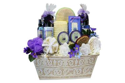 Lavender Spa Bath and Body Gift Set