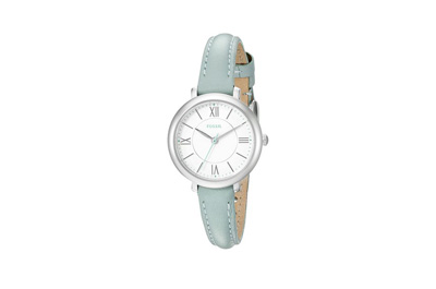 Fossil Mini Jacqueline Three-Hand Leather Watch