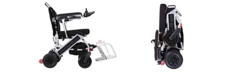 Foldawheel PW-999UL Electric Wheelchair