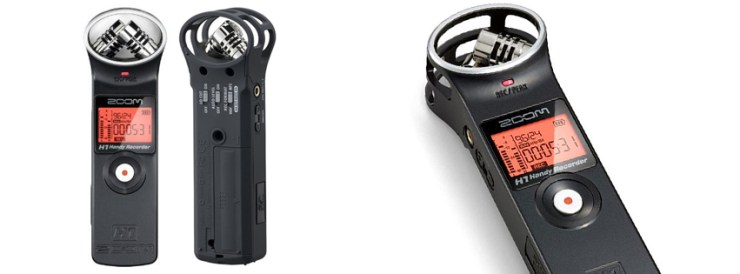Zoom H1 Digital Recorder Bundle with Zoom APH-1 Accessory Pack