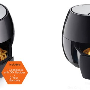 Cozyna Low Fat Healthy Air Fryer and Multi Cooker with Rapid Air Circulation System L