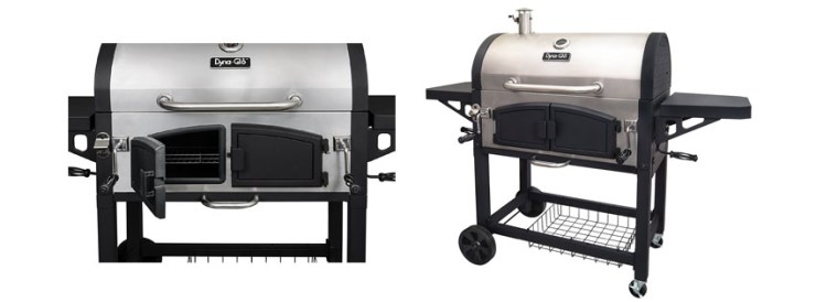 Dyna Glo DGN SNCD Dual Zone Premium Charcoal Grill