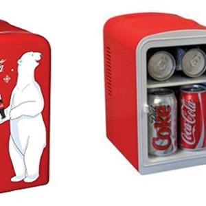 Koolatron KWC Coca Cola Personal Mini Fridge