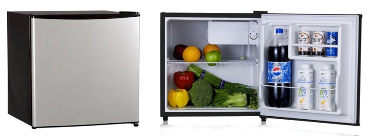 midea WHS LSS Single Reversible Door Refrigerator and Freezer