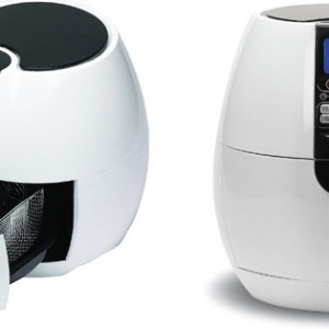 Air Fryer with Digital Programmable Settings By Good Cooking Fry with Air Not Oil