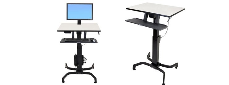 Ergotron WorkFit PD Sit-Stand Desk