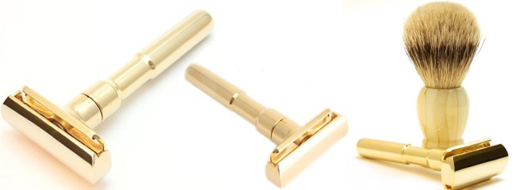 Best Premier Rasage Heavy Brass Double Edge Safety Razor