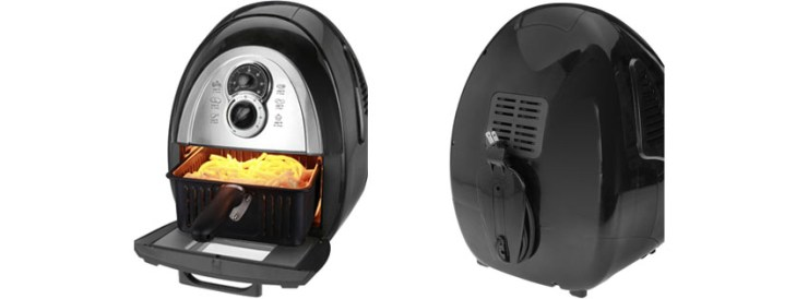 Kalorik Convection Air Fryer Includes Cookbook Black FTSS