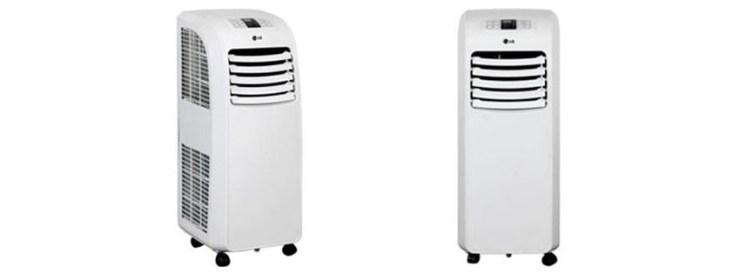 LG Electronics LP WNR BTU Portable Air Conditioner