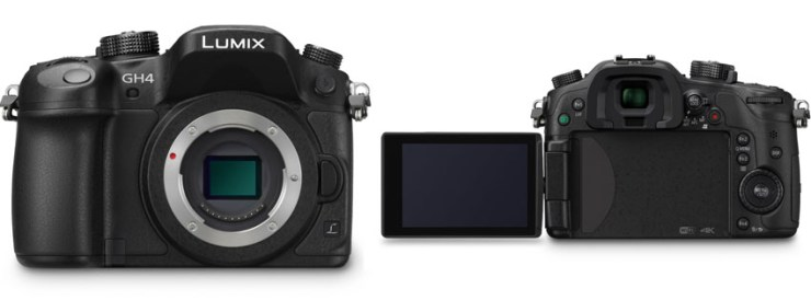 Panasonic LUMIX DMC GHKBODY Digital Camera