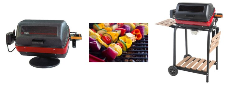 Meco Aussie W Deluxe Electric Cart Grill
