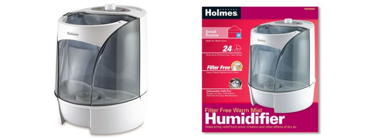 Holmes Warm Mist Humidifier HWM NUM