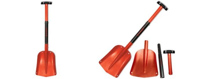 Red Aluminum Sport Utility Shovel