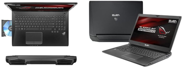 ASUS ROG G750JZ 17-Inch Laptop