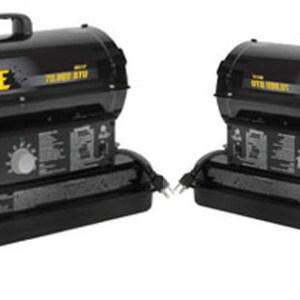 BE Pressure 70000 BTU Kerosene Forced Air Heater