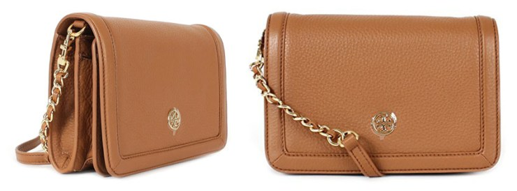 Best Tory Burch Landon Combo Pebbled Leather Crossbody