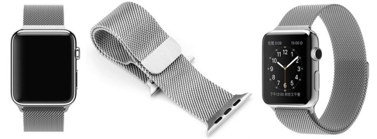 JXCN Best Milanese Loop Stainless Steel Smart Watch Band
