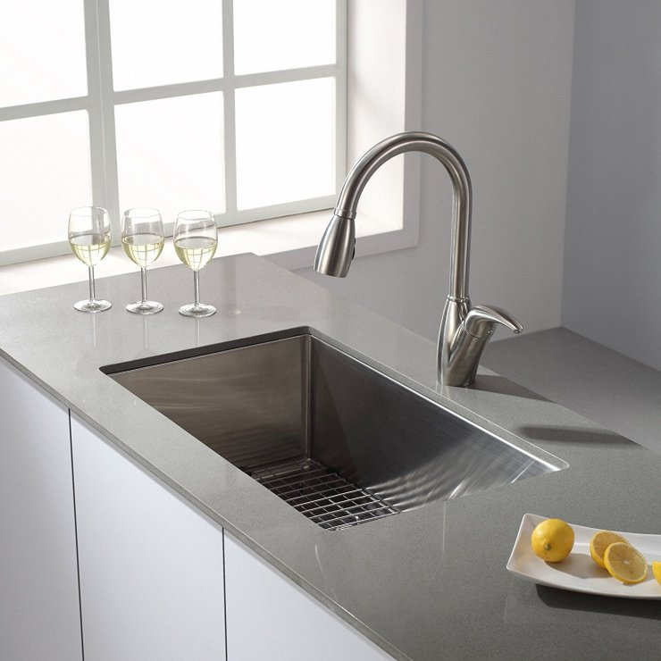 Top 10 Best Single Bowl Kitchen Sinks 2019 Reviews [Editors ...