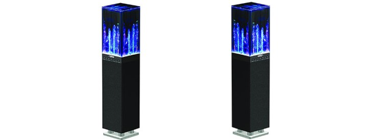 NAXA Electronics NHS Dancing Water Light Tower Speaker System
