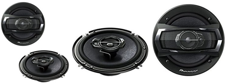 Pioneer TS-A1675R 3-Way TS Series Speakers