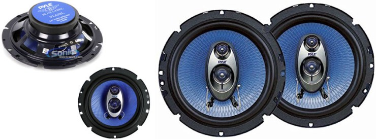 Pyle PL63BL 6.5-Inch 360-Watt Speakers