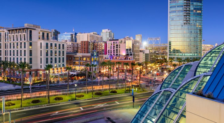 Population of San Diego