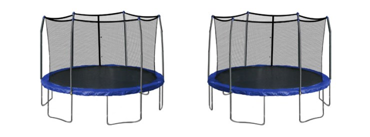 Skywalker Trampolines – 15ft Enclosure and Spring Pad