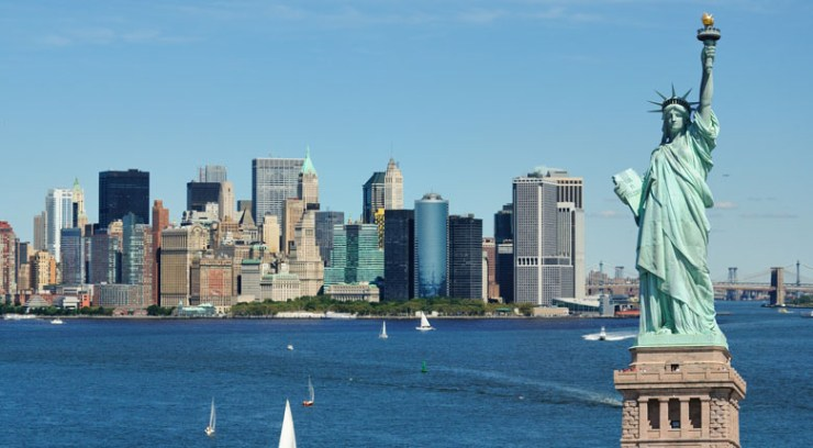 USA Famous Statue of Liberty