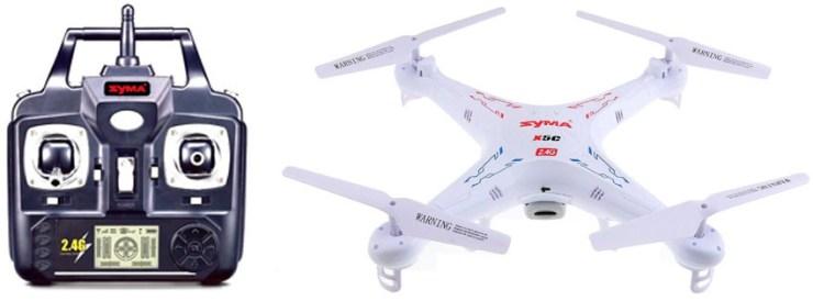 Syma X5C Explorers 2.4G 4CH 6-Axis Quadcopter