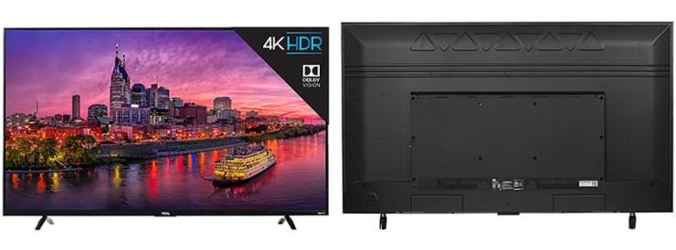 TCL Inch Ultra HD Roku Smart LED TV
