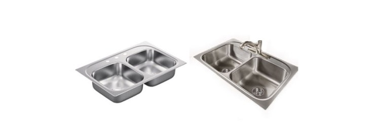 Moen G Series Gauge Double Bowl Drop In Sink