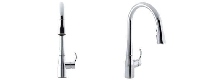 Kohler Simplice Single-Handle Pull-Down Faucet