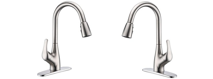 Purelux Tulip Single Handle Pull-Down Faucet