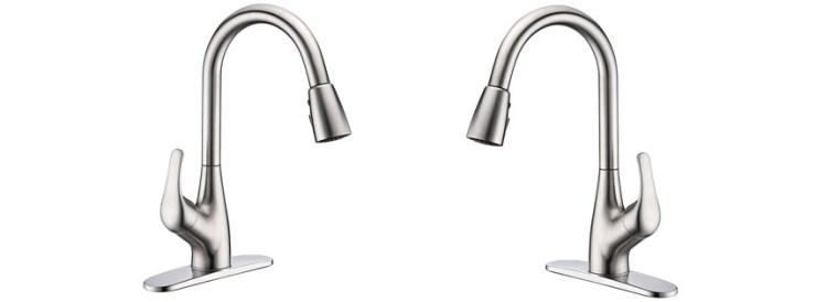 Purelux Tulip Single Handle Pull-Down Faucet