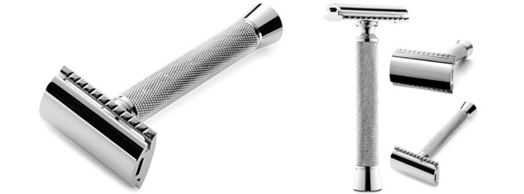Perfecto Double Edge Long Handled Safety Razor