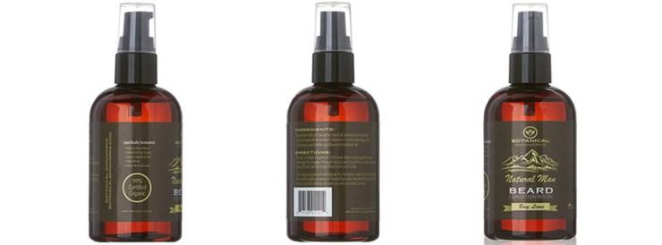 Natural Man Bay Lime Beard Oil by Botanical Skin Works