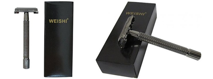 WEISHI CL Long Handle Double Edge Safety Razor