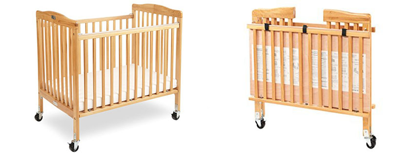 585f6bb34087f Dream On Me Full Size 2 in 1 Folding Stationary Side Crib -