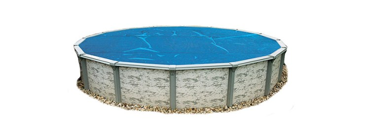Blue Wave Feet Round mil Solar Blanket for Above Ground Pools