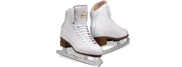 Jackson Ultima Classique White Womens Ice Skates
