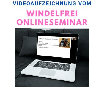 Produktbild Videoaufzeichnung Windelfrei Seminar