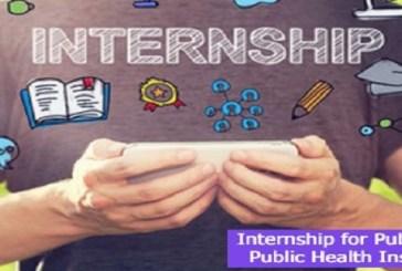 Internship for Public Health at Public Health Institute(PHI): (Deadline 15 June 2021)