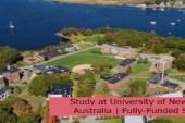 Study at University of New England in Australia | Fully-Funded Scholarship: (Deadline 30 September 2021)