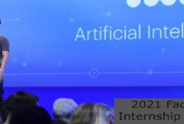 Facebook AI Research Internship – Remote: (Deadline 31 July 2021)