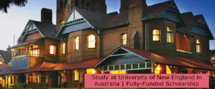 Study at University of New England in Australia | Fully-Funded Scholarship: (Deadline 1 August 2021)