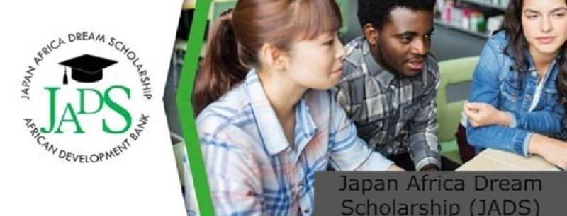 Japan Africa Dream Scholarship (JADS) Program (Fully funded): (Deadline 31 August 2021)